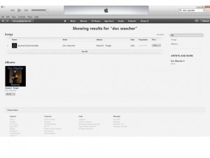 "New Doc Wascher Hit Song, ""Rewind,"" on iTunes!"